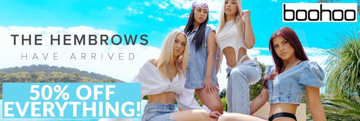 The Hembrows Have Arrived - 50% Off Everything at Boohoo