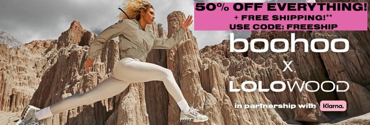 50% Off Everything - boohoo x Lolowood at Boohoo