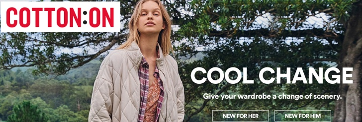 Cool Change at Cotton On