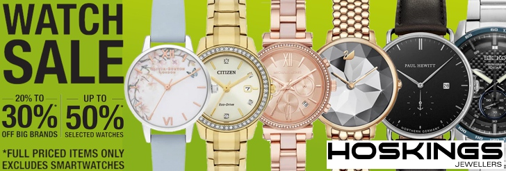 Watch Sale at Hoskings Jewellers