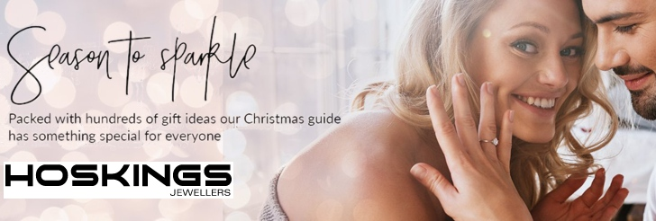 Season to sparkle - Packed with hundreds of gift ideas our Christmas Guide has something special for everyone at Hoskings Jewellers