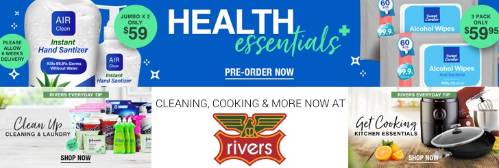 Cooking, cleaning and more - New ranges now at Rivers