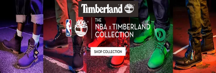The NBA x Timberland Collection at Timberland