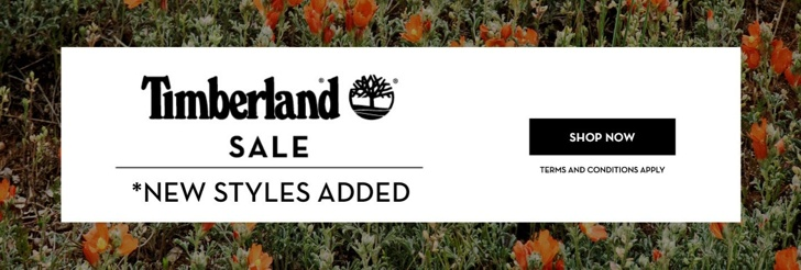 Sale - New Styles Added at Timberland